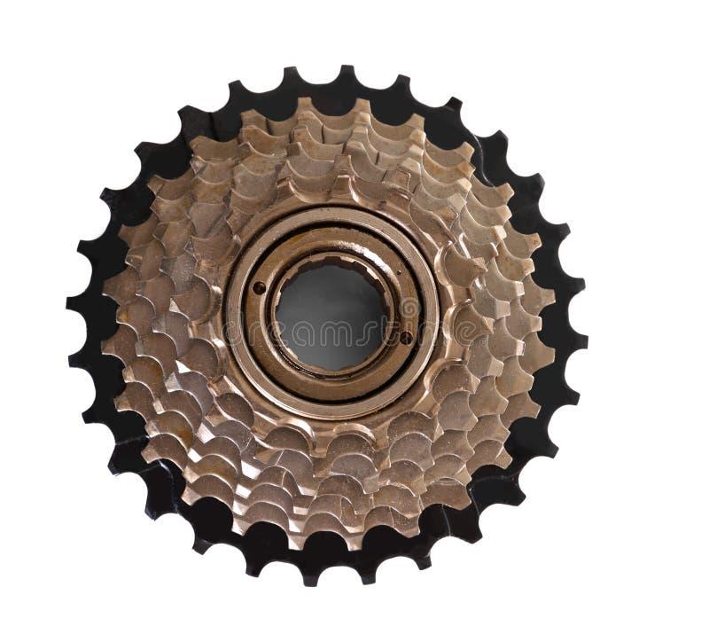 Cassette de bicyclette images libres de droits