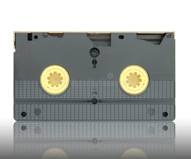 Cassette de cassette vidéo photographie stock