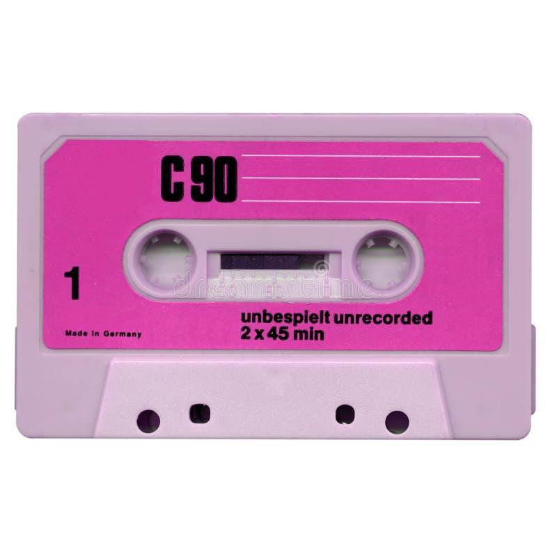 Cassette de cinta fotos de archivo