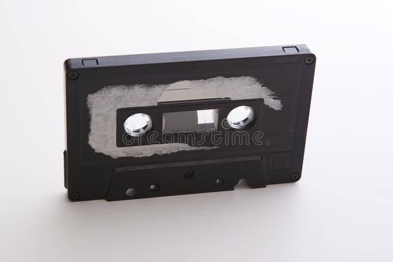 Cassette de cinta resistido fotografía de archivo