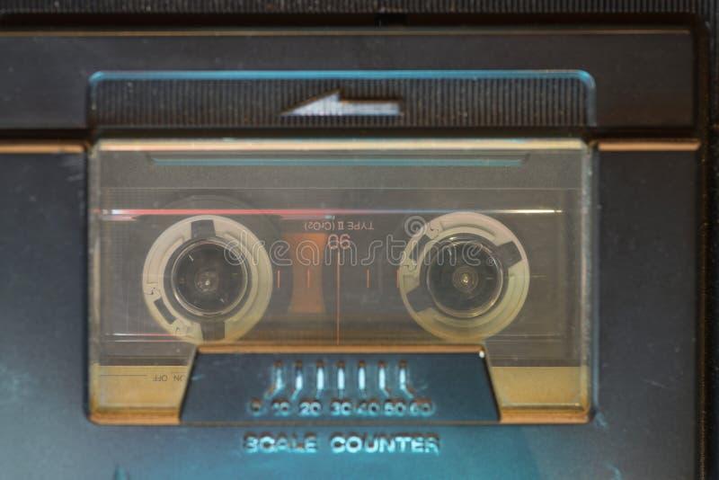 Cassette de cru à l'intérieur image libre de droits
