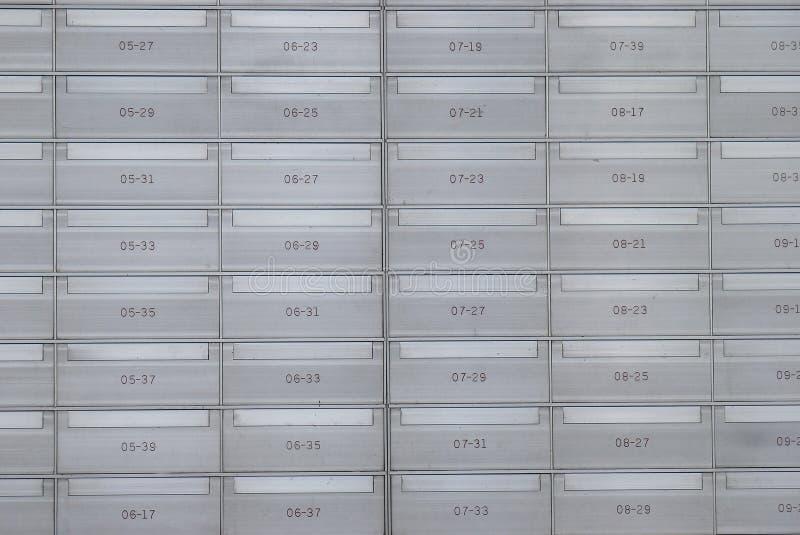 Cassette della posta fotografia stock libera da diritti