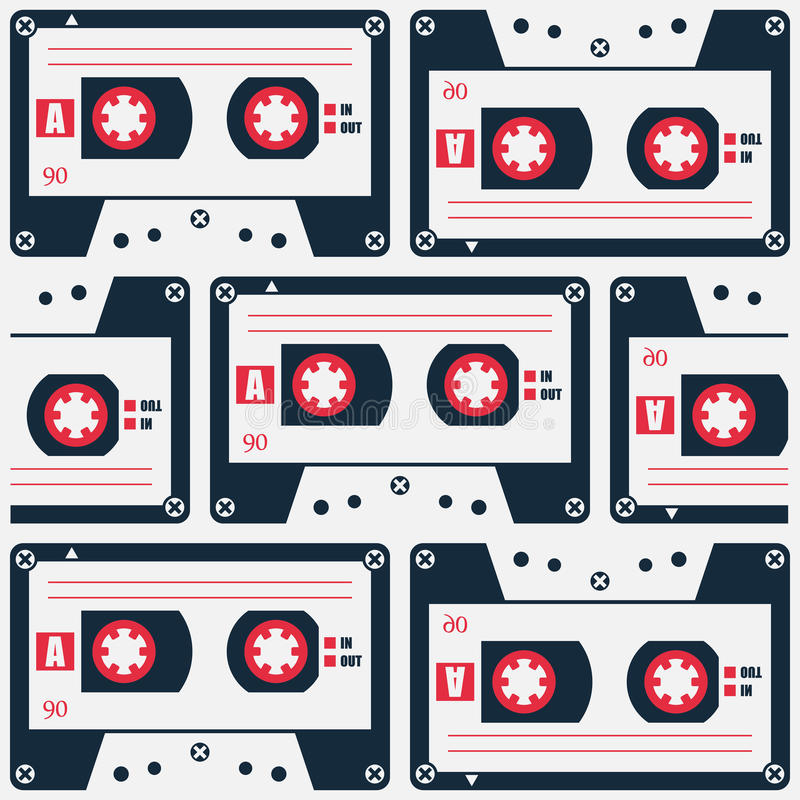 Free Cassette Pattern Stock Photos - 69420143