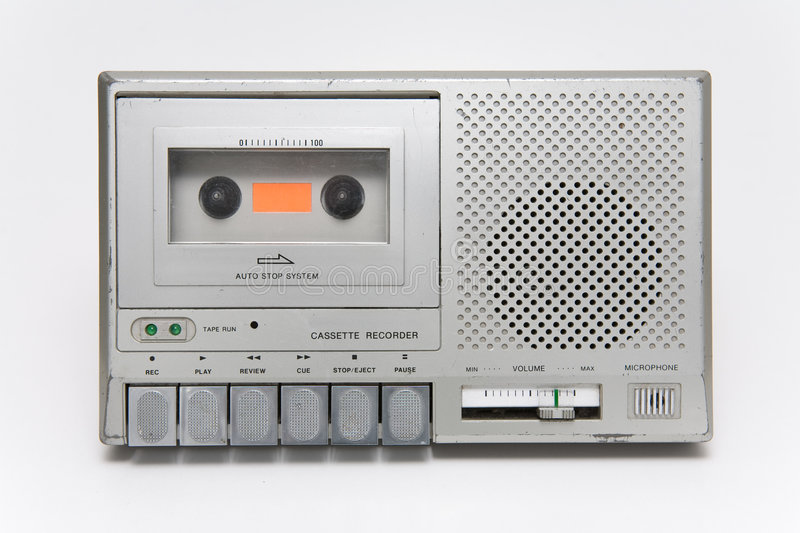 Cassette Recorder royalty free stock photo