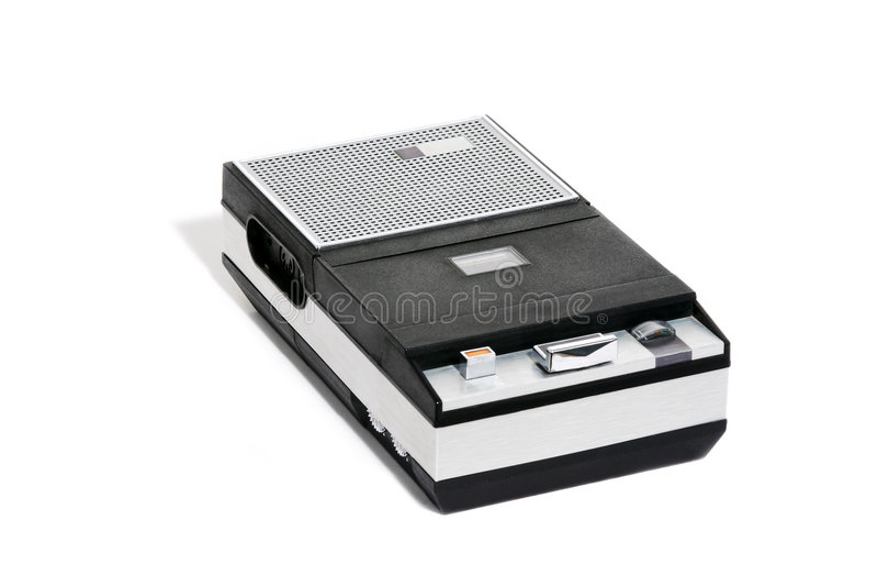 Download Cassette recorder retro στοκ εικόνες. εικόνα από seventies - 54436