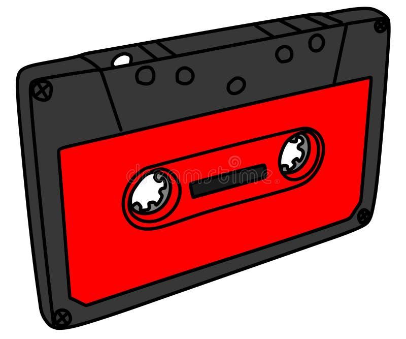 Cassette sonore, illustration images libres de droits
