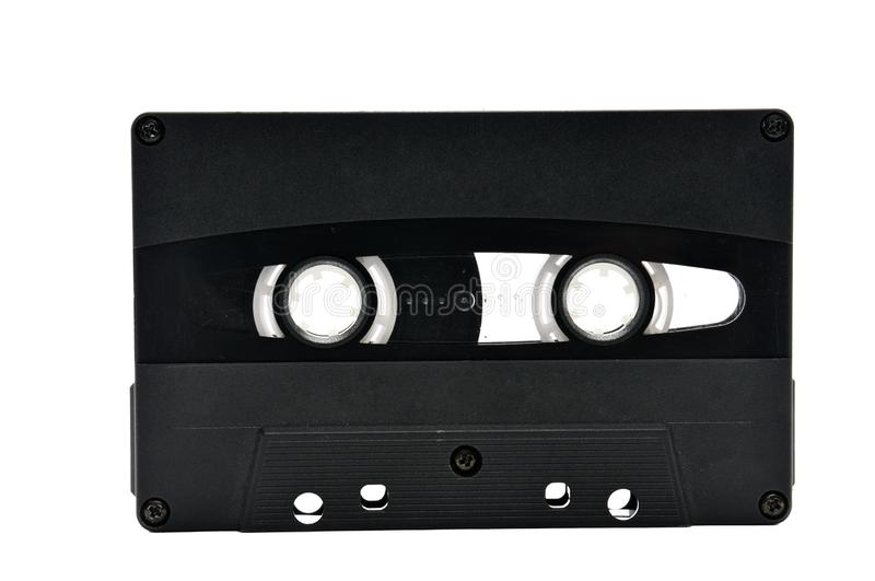 Cassette sonore pour enregistrer des ann?es saines de 70s 90s photographie stock