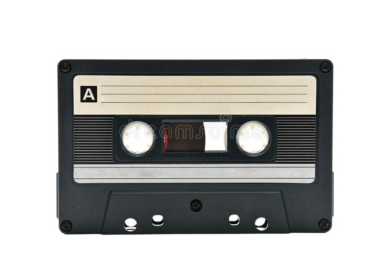 Cassette sonore pour enregistrer des ann?es saines de 70s 90s photographie stock libre de droits