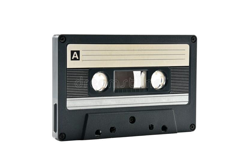 Cassette sonore pour enregistrer des ann?es saines de 70s 90s photo libre de droits