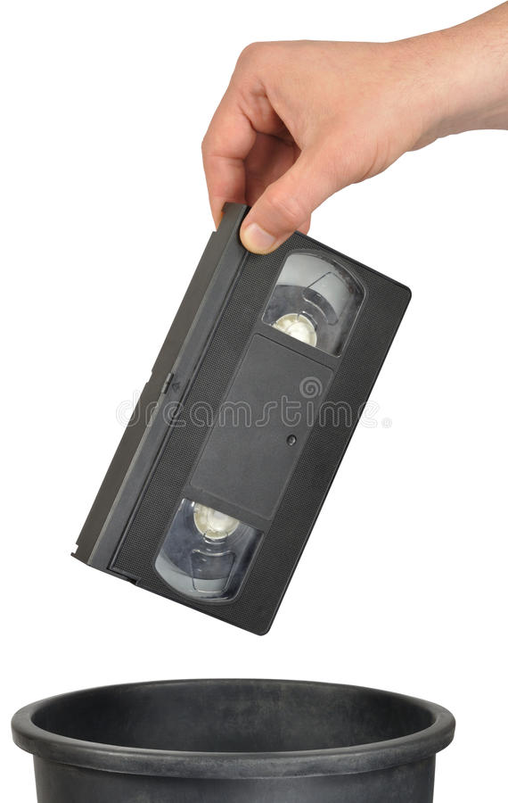 Cassette vidéo photos stock