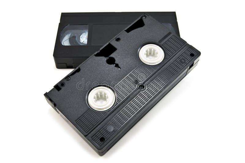 Cassette vidéo photographie stock