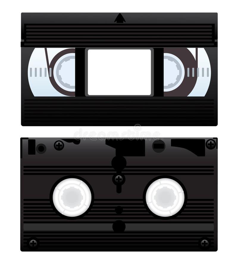Cassette vidéo illustration libre de droits