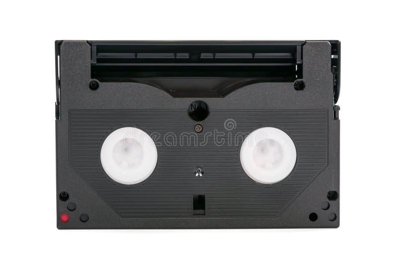cassette vidéo de 8mm sur le fond blanc images libres de droits