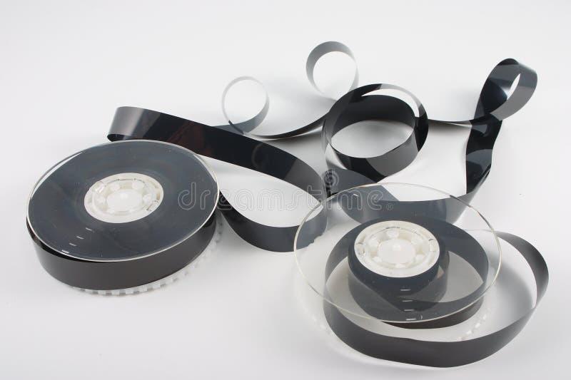 Cassette vidéo embrouillée photo libre de droits