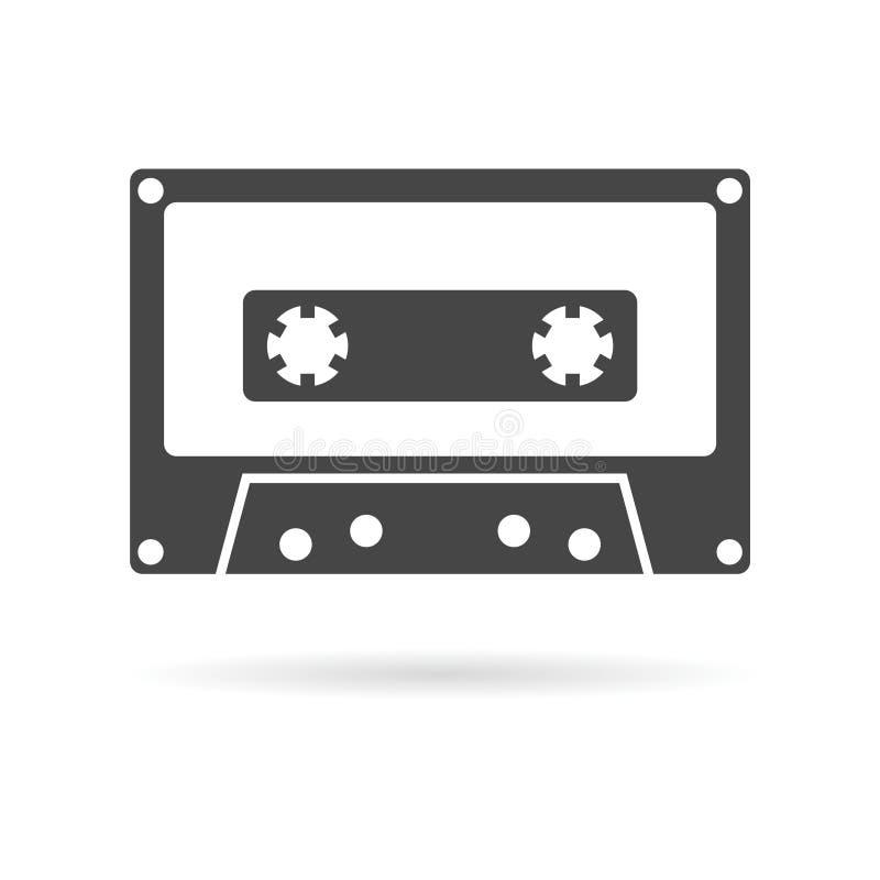 Cassettepictogram vector illustratie
