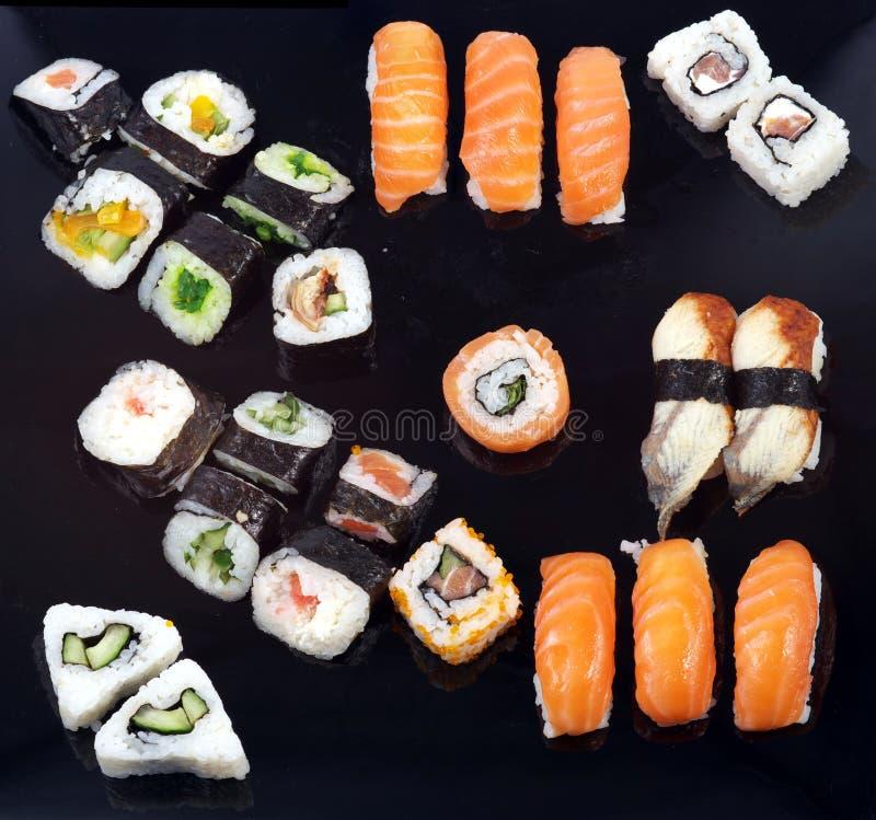 Cassetto dei sushi fotografia stock libera da diritti