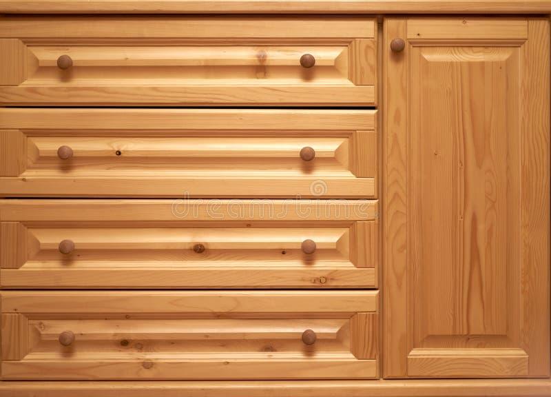 Cassettone di legno fotografia stock libera da diritti