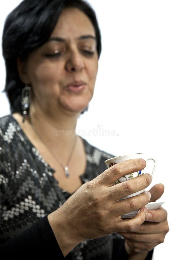 Cassiere di fortuna della signora - 2 fotografia stock libera da diritti