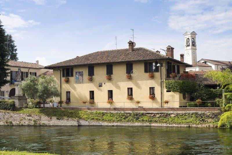 Cassinetta di Lugagnano fotografia de stock royalty free