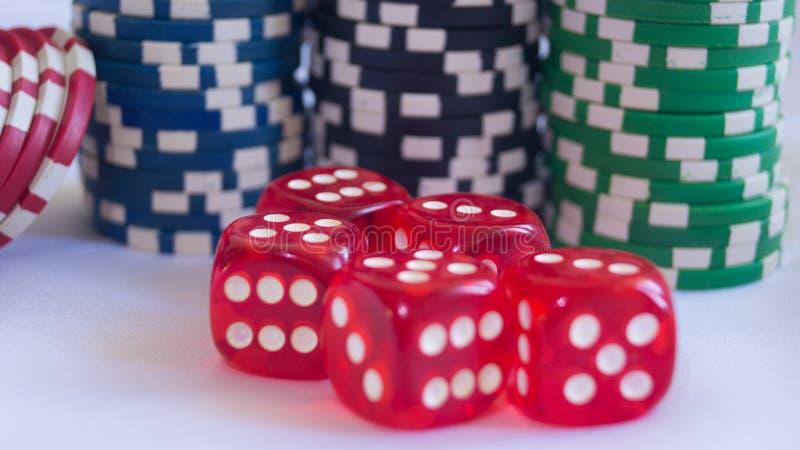 Cassino-Brettspiel stockbild