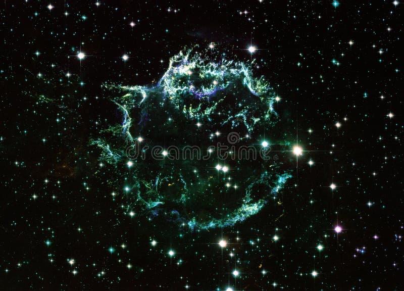Cassiopeia στοιχεία μιας ενισχυμένα κόσμου εικόνας από τη NASA/ESO | Fractal ταπετσ απεικόνιση αποθεμάτων