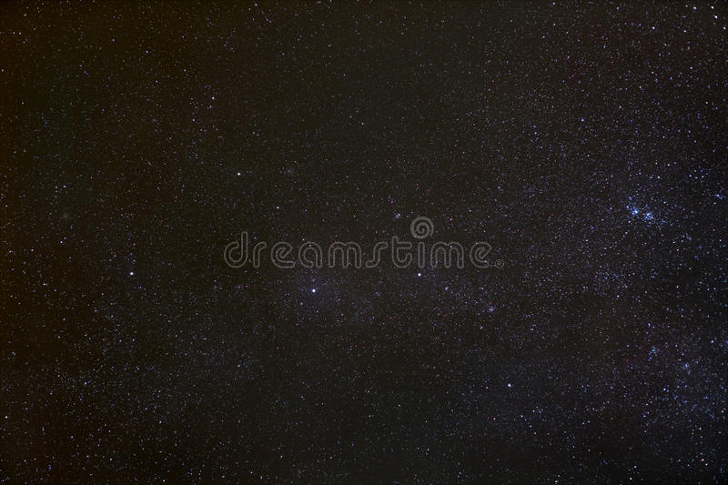 Cassiopeiakonstellation royaltyfria foton