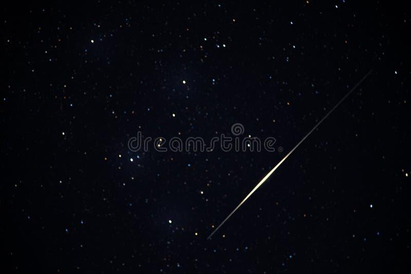 Cassiopeiakonstellation arkivbilder