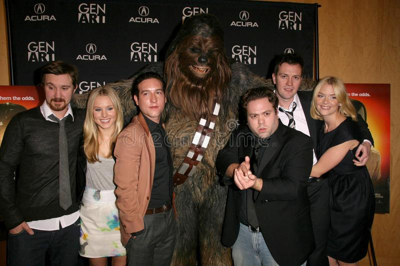 Download Cast And Crew Of 'Fanboys' At The Los Angeles Special Screening Of 'Fanboys'. Clarity Screening Room, Beverly Hills, CA. 02-03-09 Editorial Photo - Image: 22766076