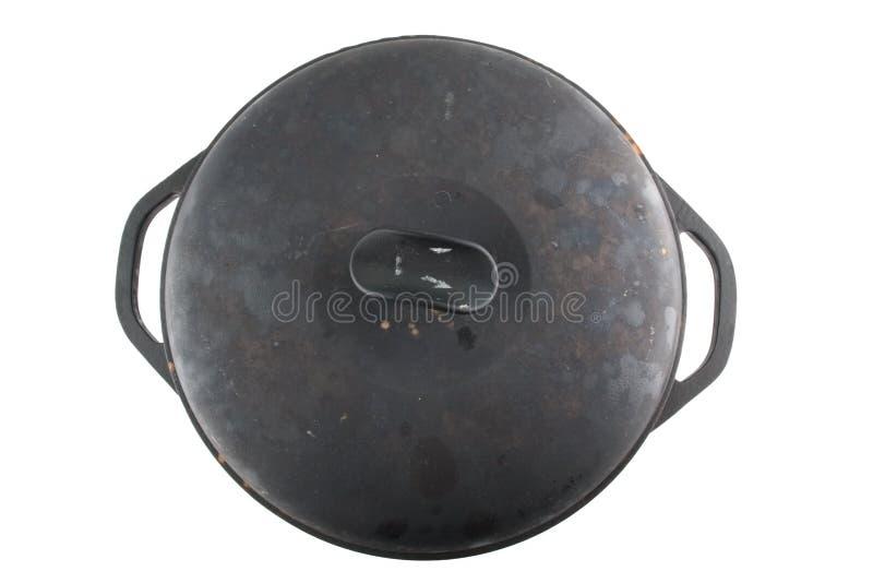Download Cast iron cauldron stock photo. Image of isolated, cast - 10217494