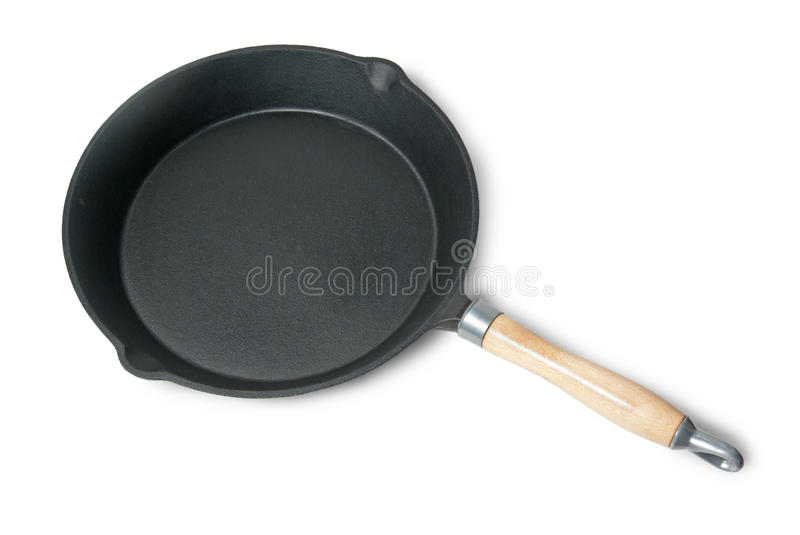 Cast-iron Frying Pan Stock Images