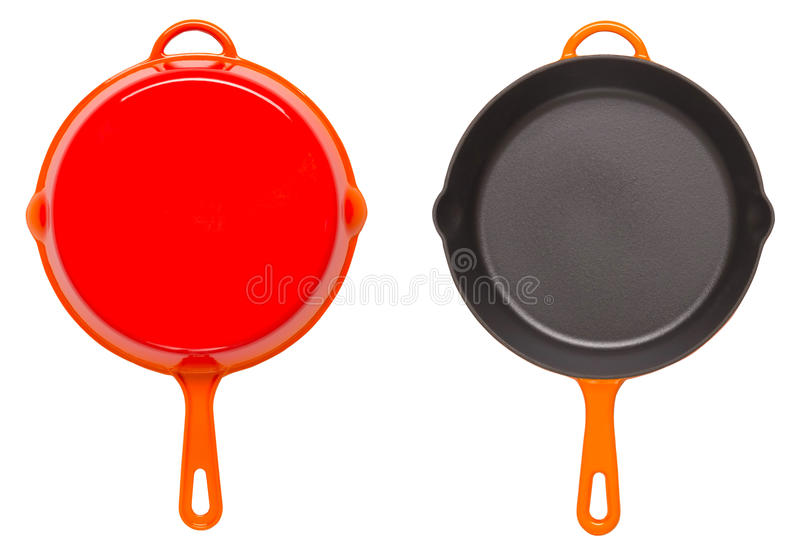 Download Cast iron pan stock image. Image of iron, cookware, isolated - 25128657