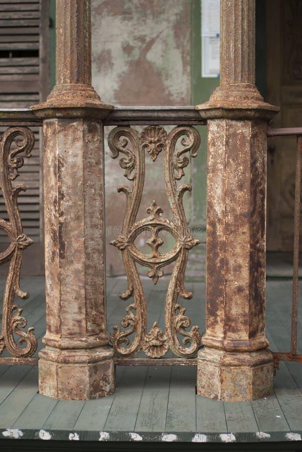 Cast Iron Railing stock image. Image of ornate, antique ...