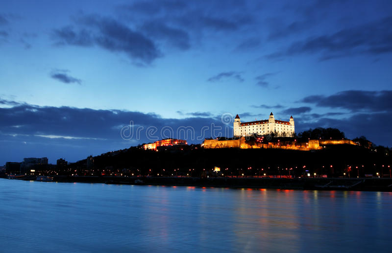 Casta - Bratislava imagens de stock