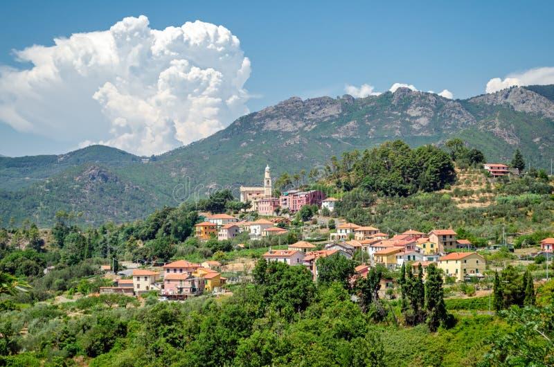 Castagnola (frazione di Framura), Liguria stock photo