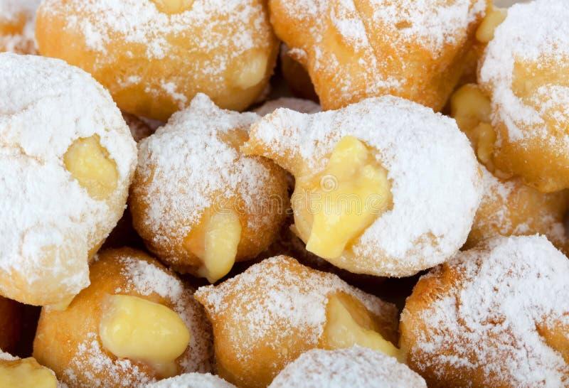 Castagnole de carnaval italien photos stock