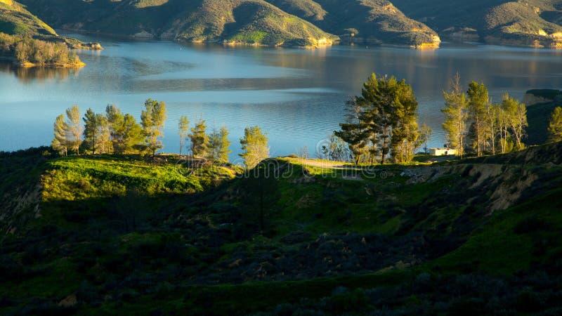 Castaic Lake California royalty free stock photography