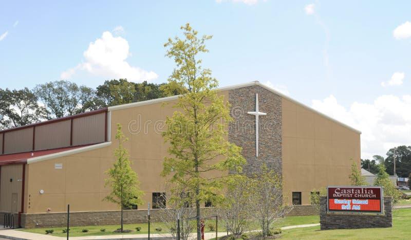 Castalia施洗约翰教堂,孟菲斯, TN 免版税库存照片