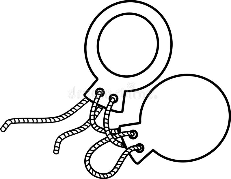 castanets coloring page cartoon