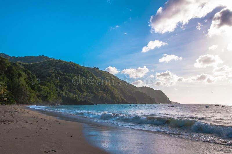 Castara zatoka w Tobago zdjęcie royalty free