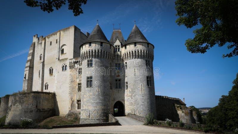 Castel Άγιος Jean Nogent LE rotrou Γαλλία στοκ εικόνες