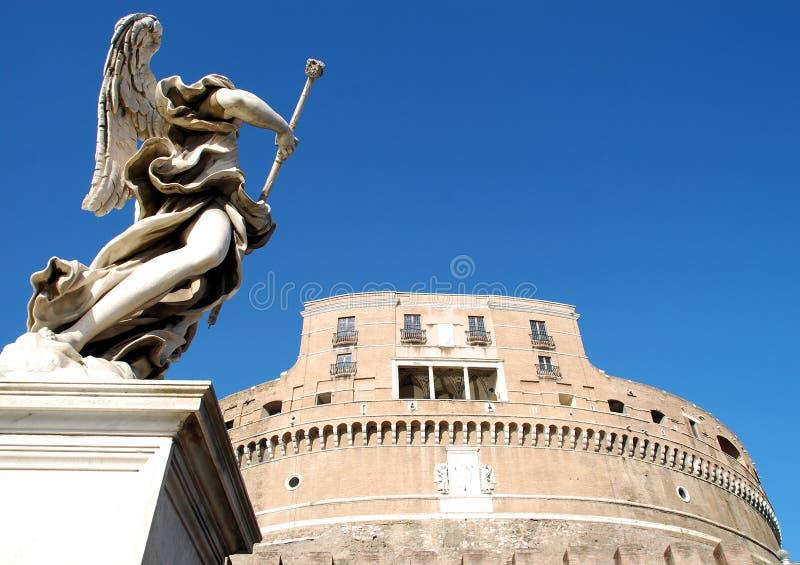 castel angelo ангела sant стоковое изображение rf