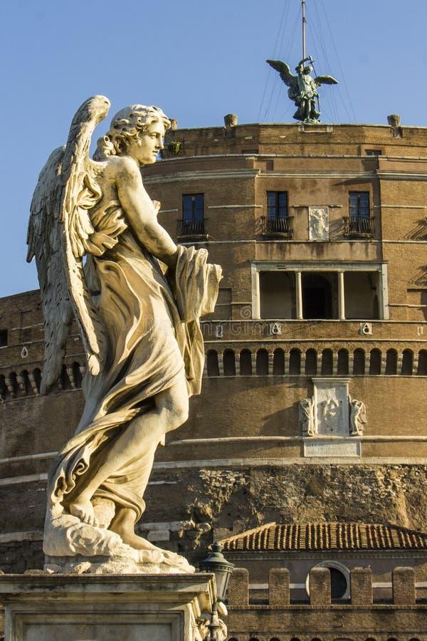 castel angelo sant стоковое фото rf