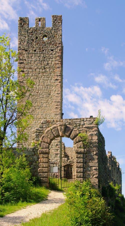 Download Castel Belfort stock photo. Image of ruin, tower, trient - 14851762