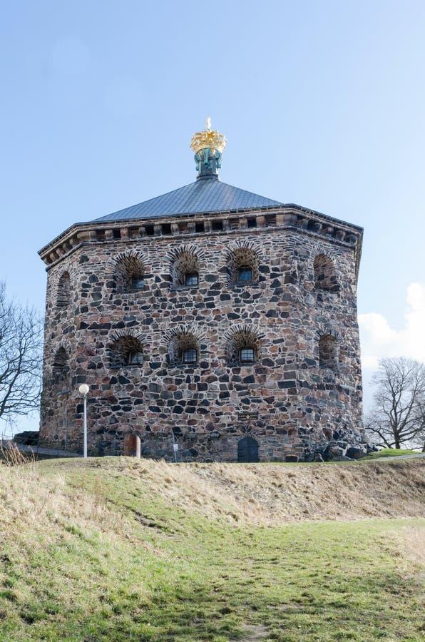 Castel bonito velho fotografia de stock royalty free