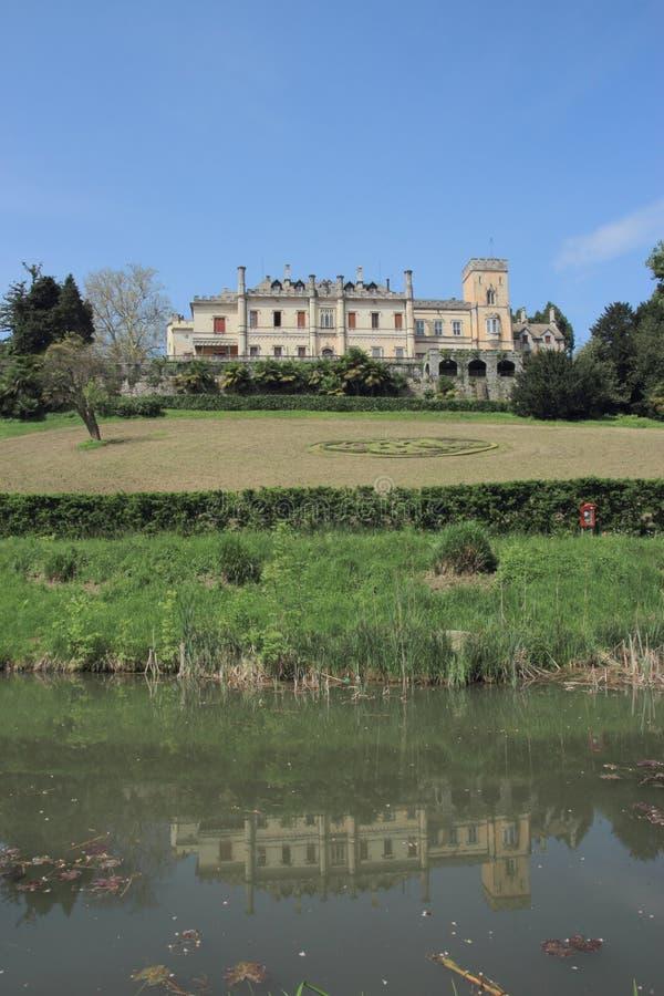Castel dal Pozzo imagens de stock