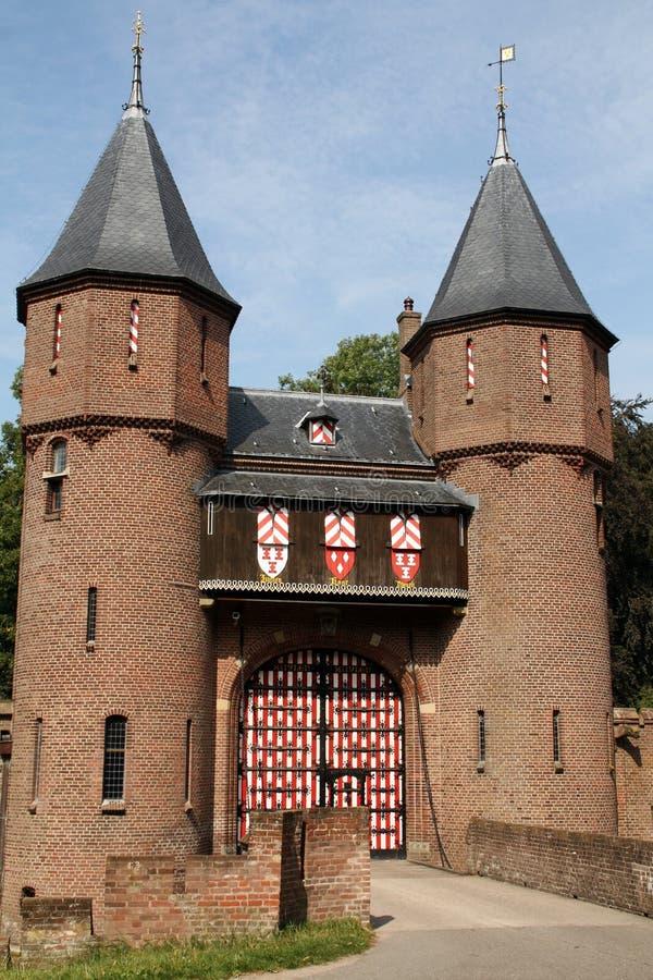 Castel de Haar стоковые фотографии rf