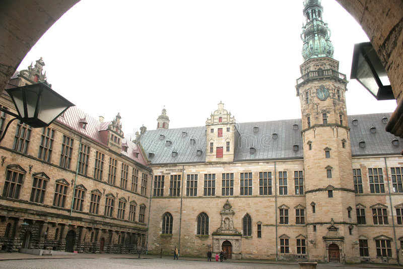 Castel de Kronborg imagenes de archivo