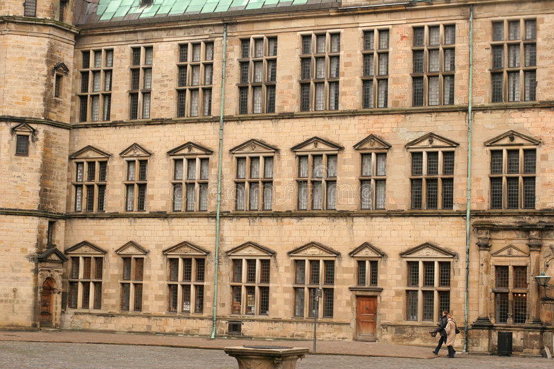 Castel de Kronborg fotos de archivo libres de regalías