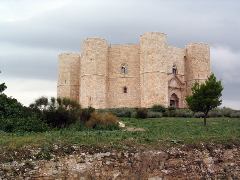 Castel del Monte fotografia de stock