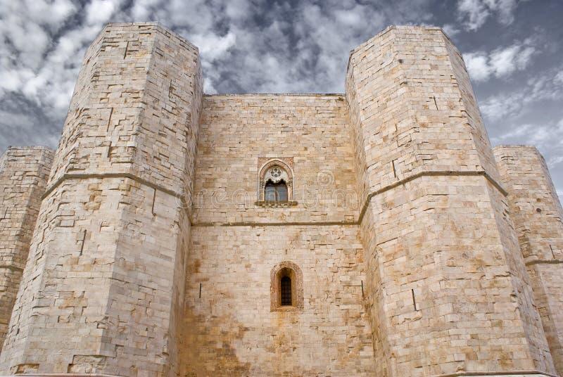 castel del monte стоковое фото